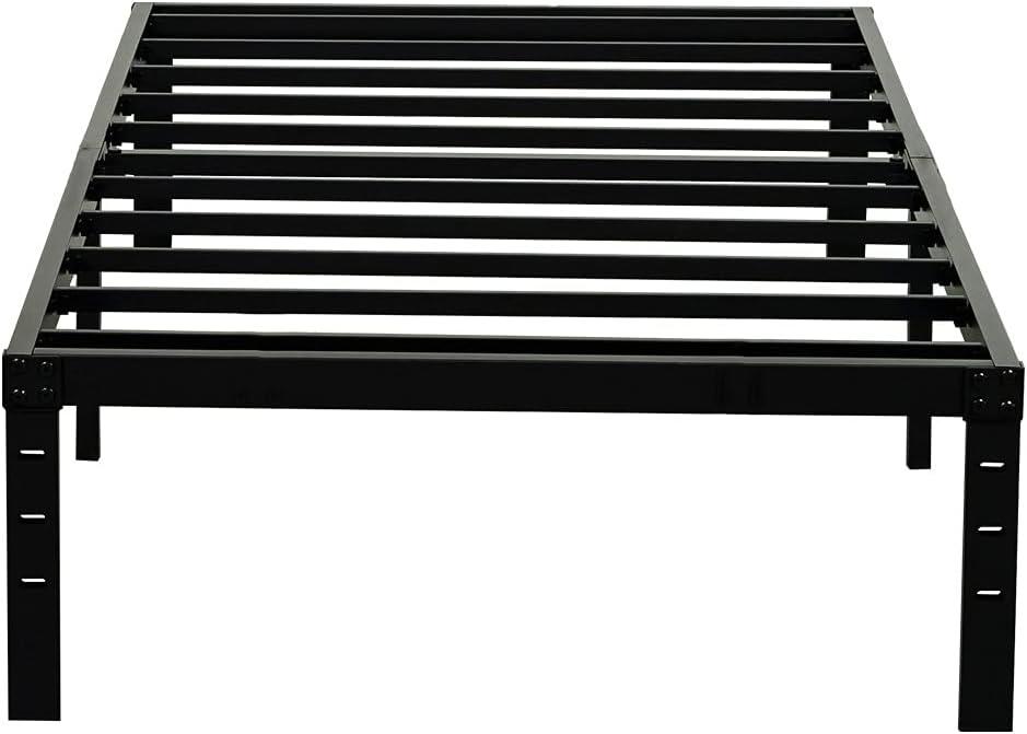 Dedication Wulanos Twin XL Size Bed Frame Popular overseas Duty Metal Heavy 3500lbs Frames