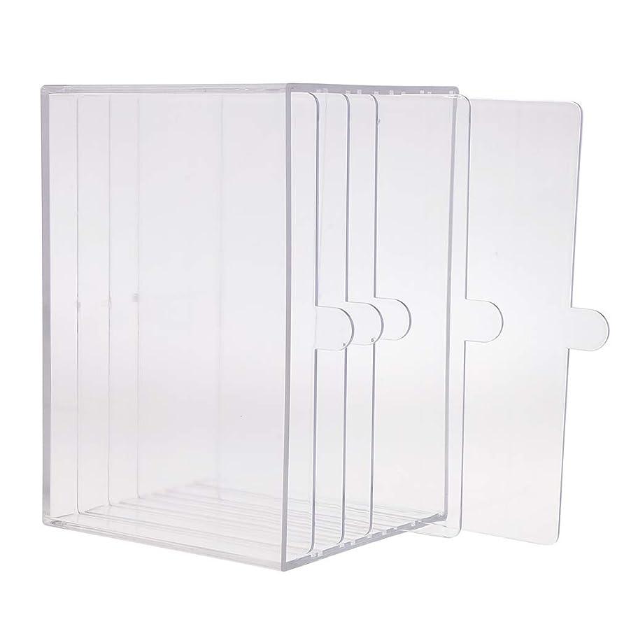 ディスコ暴露する忌み嫌うHellery ネイルアート ディスプレイケース 収納ボックス ネイルチップ 収納容器 サロンツール プロ用