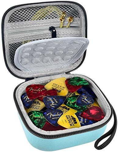 Guitar Pick Holder 100 pcs Guitar Picks Organizer Case Compatible with Fender D Addario Jim product image