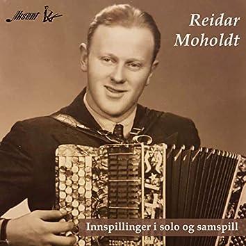 Reidar Moholdt - innspillinger i solo og samspill