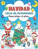 NAVIDAD Libro de Actividades para niños +3 años: Juegos Educativos de Navidad - Libro de...