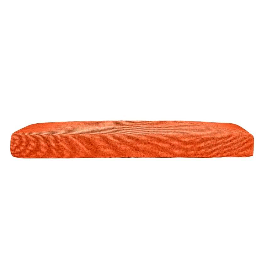 ミンチ脅迫仲間、同僚1枚入り 全3色3サイズ 快適 ソファシート クッションカバー ソファスリップカバー 四季適用 - オレンジ, L