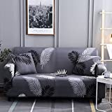 WXQY Funda de sofá elástica con Estampado Floral para Sala de Estar, sofá Antideslizante, Toalla, Funda de sofá, Funda para Muebles modulares, Funda para sofá A29, 2 plazas