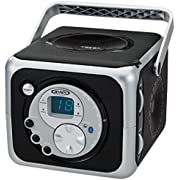 Jensen CD-555 Limited Edtion Portable Bluetooth Music System with CD Player +CD-R/RW & FM Radio with Aux-in & Headphone Jack Line-In …