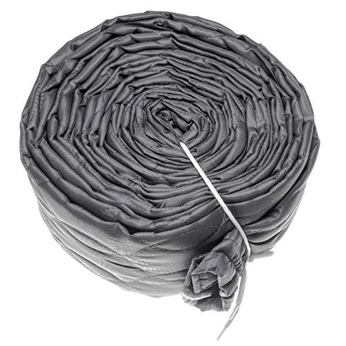 vhbw Schutzüberzug für Zentral-Staubsaugerschlauch, Durchmesser: 65mm, Länge: 9m, z.B. von Vacuflo, Crossvac, Nilfisk