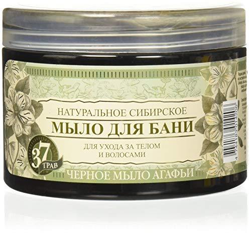 Grandma Agafia's Recipes Agafia Natural Herbal Soap Black 500ml (BA01)