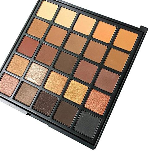 IGEMY Morphe 25A Copper Spice OR 25B Bronzed Mocha Color Eyeshadow Palette U Ch (A)