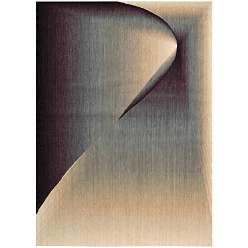 NOURISON RA03 Radiant Arts Rechteckiger Teppich, 61 x 7,6 cm, Opal-P, Wolle, Opal, 2'3