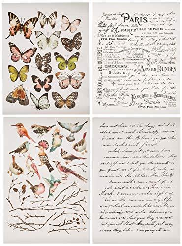 Prima Marketing Inc Redesign Transfer – Pariser Schmetterlinge, gemischt
