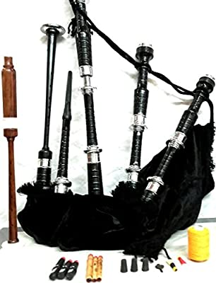 Bagpipes Starter Kit withh Tutor Book Practice chanter for beginner from AJW