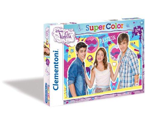 Clementoni - Puzzle Violetta de 104 Piezas