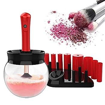 Star Brand Makeup Brush Cleaner and Super-Fast Dryer   Automatic Brush Spinner with Bowl Applied to Powder Brush Foundation Brush Lip Brush,Cheek Brush Concealer Brush   Quick Dry Machine