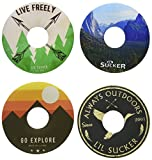 Lil Sucker Outdoors Suction Ring - 4 Pack