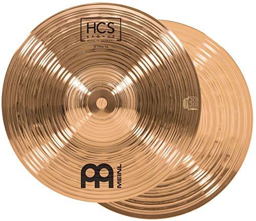 "MEINL Cymbals マイネル HCS Bronze Series ハイハットシンバル 10"" Hihat ペア HCSB10H 【国内正規品】"