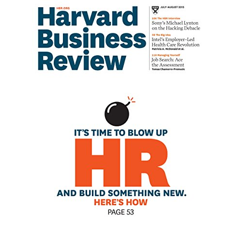 Harvard Business Review, July 10, 2015 copertina