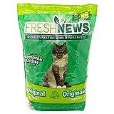 Fresh News Litière en Papier recyclé pour Chat 1,8 kg