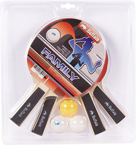 BUFFALO.NL Family - Set da Ping Pong, Multicolore, M
