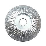 Cuttey - Smerigliatrice angolare per Mola in Legno, Disco di lucidatura, Strumento abrasivo per smerigliatura, Strumento rotativo di Incisione 85mm