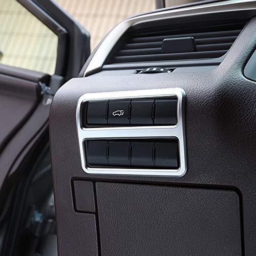 ABS Chrome en Plastique De Voiture Intérieur Interrupteur De Phare Couverture Cadre Garniture Accessoires pour RX200T 450h 2016 2017