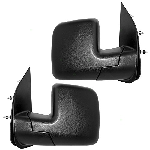 Manual Side Mirror Convex short arm LEFT Fits FORD Transit Bus 1991-1994