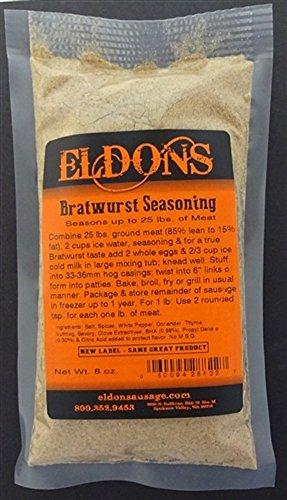 Bratwurst Fresh Sausage Seasoning Seasons 25 Lbs. #882