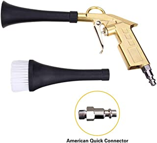 MLADEN Car Cleaning Gun High Pressure Air Blow Gun Dry Cleaning Tool Dust Water Remover Detailing Tool for Air Compressor with Improved American Quick Connector
