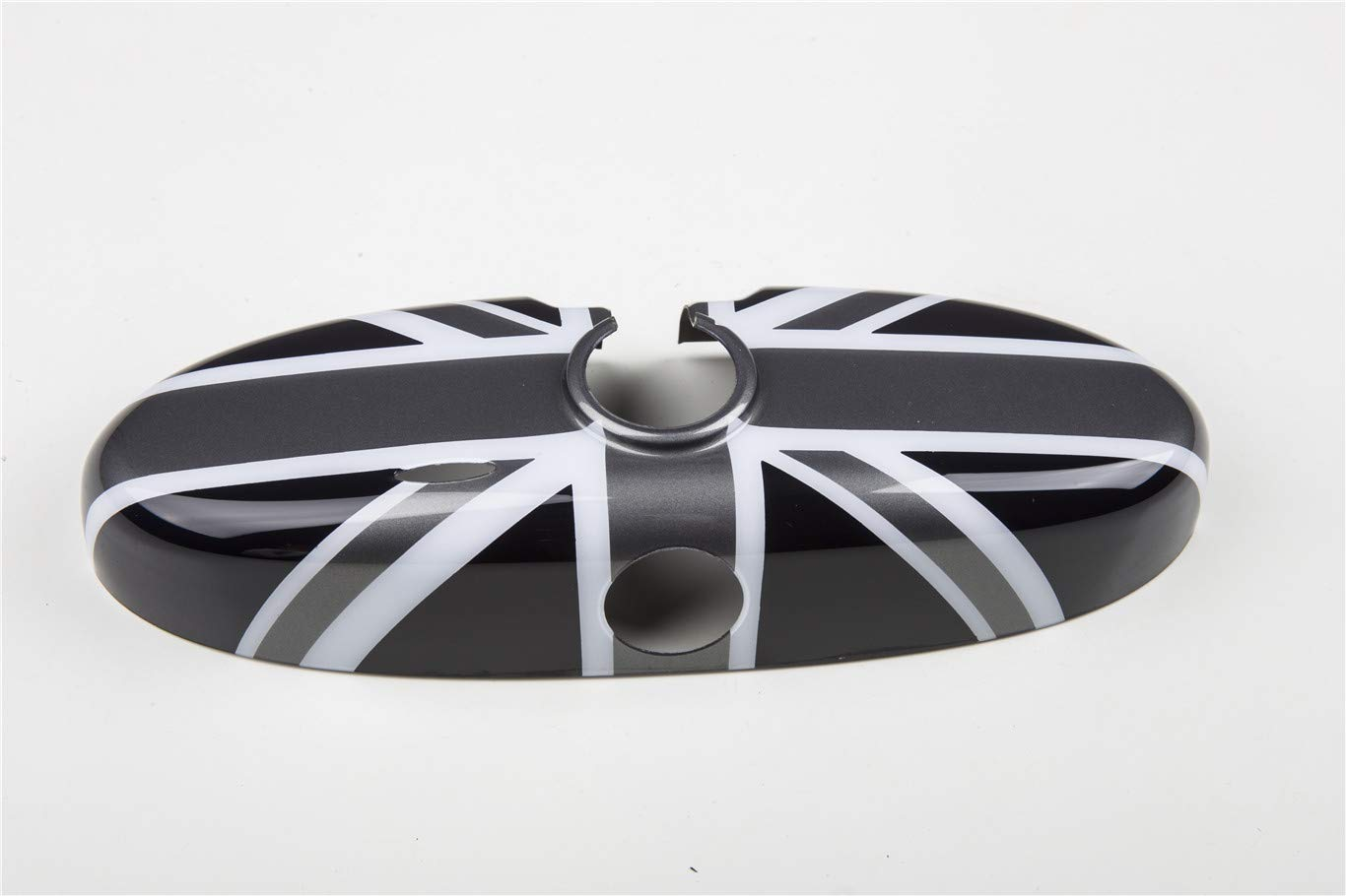 HDX Inner Rearview Room Mirror Cover Trim Cap ABS for Mini Cooper R55 Clubman R56 Hatchback R57 Covertible R58 Coupe R59 Roadster R60 Countryman R61 Paceman Black