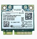Siren 7260HMW Laptop Network Card,7260AC AC 7260 Half Mini PCI-E Card Laptop WiFi Card Upgrade 5GHz WiFi Band Bluetooth