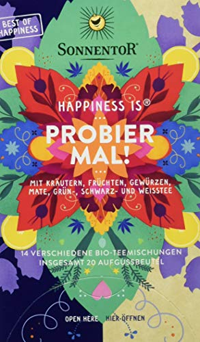 Sonnentor Bio Tee Probier mal! Happines is (1 x 32 g)