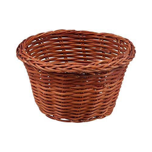 Amosfun Mini Gewebte Ostern Korb Obstkorb Picknick Körbe Brot Korb Bonbon Container Essen Servierkorb für zu Hause Ostern Dekoration