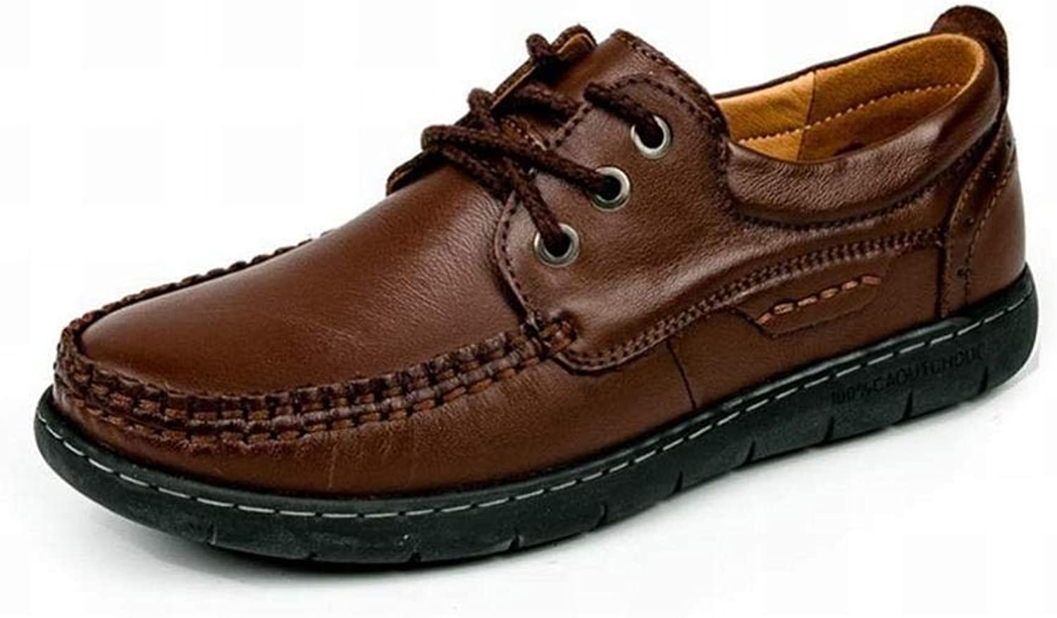 ZJ Men's Leather shoes Winter, Loafers Driving shoes, Oxfords Casual Breathable, Comfort Party & Amp; Evening Formal Business Work Lazy shoes