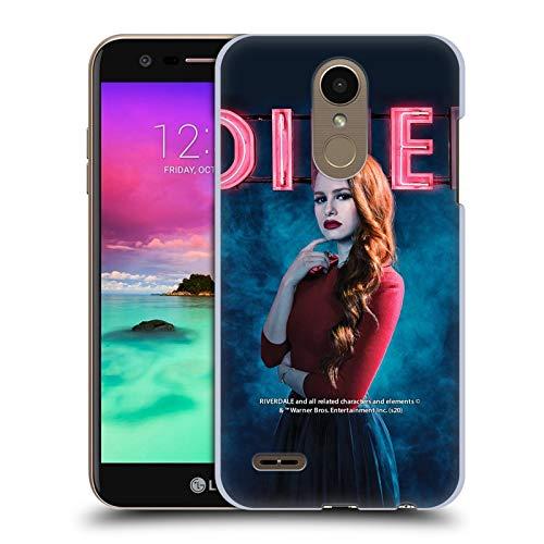Head Case Designs Licenciado Oficialmente Riverdale Cheryl Blossom 1 Gráficos 2 Carcasa rígida Compatible con LG K10 / K11 / K11 Plus (2018)