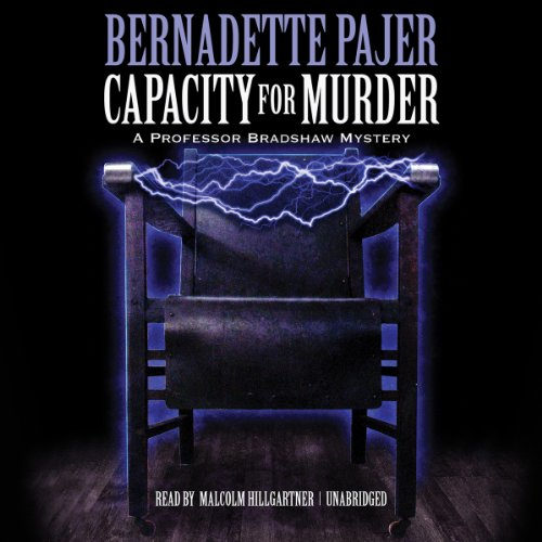 Capacity for Murder audiobook cover art
