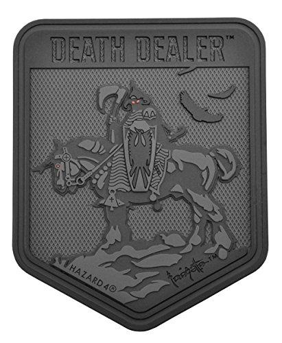 Patch Death Dealer (TM) exclusif par Frank Frazetta, FZ-DDL-BLK, Noir