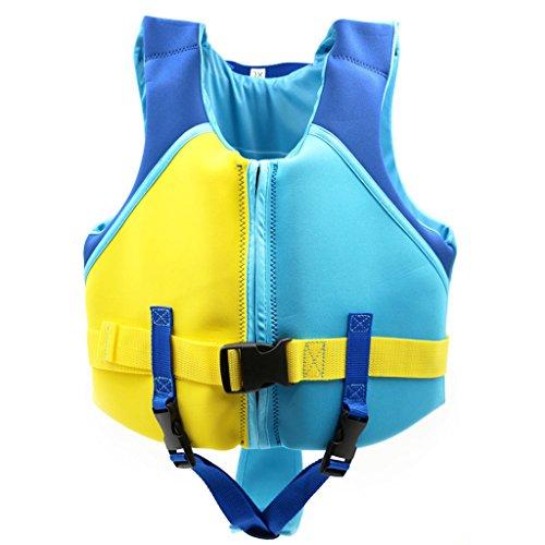 Sundwsports Baby Jungen Schwimmer Weste Schwimmtrainingsjacke Lernen Für 3 5 Jahre blau 3-5 jahre