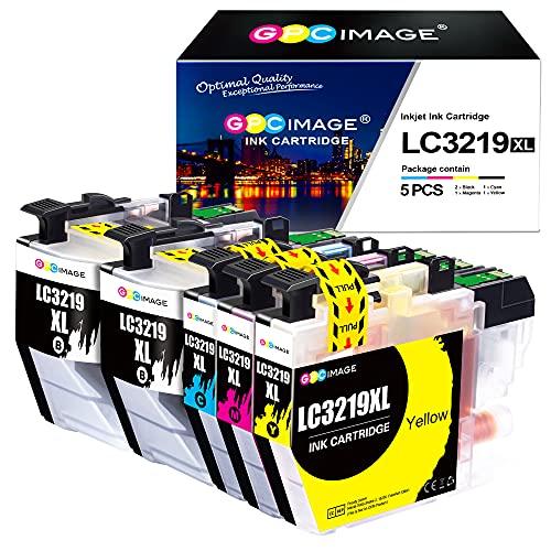 GPC Image Kompatible Tintenpatrone als Ersatz für Brother LC3219 für MFC J5330DW J5730DW J5335DW J6930DW J6530DW J5930DW J6935DW(Schwarz Cyan Gelb Magenta, 5er-Pack)