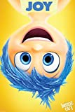 Joy - Inside Out Movie Poster 12 x 18, Glossy Finish (Thick): Joy, Fear, Anger, Disgust, Sadness