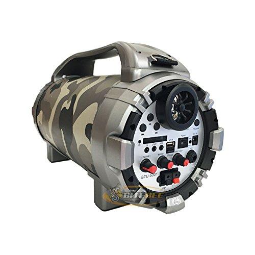 Blackmore BTU-5001 Rechargeable Speaker w/Bluetooth/FM/USB/TF/Mic-In