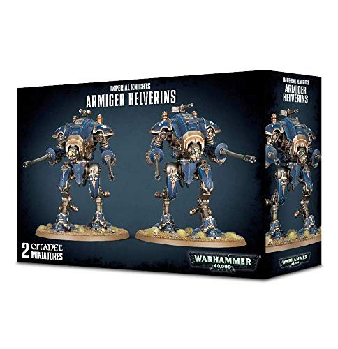 Unbekannt Games Workshop Warhammer 40k Imperial Knights Arminger Helverins (54-13)