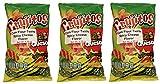 Sabritas Mexican Chips Large Bag (3-pack) (Botanas Mexicanas Bolsa Grande) ((3- Pack) Crujitos Queso y Chile 4.59 oz)