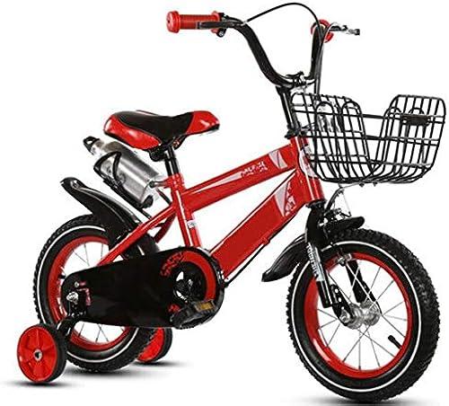 fürrad Kinder Faltbares fürrad für Jungen und mädchen 6-11 Kinder Sport fürrad 16  (Farbe   Rot)