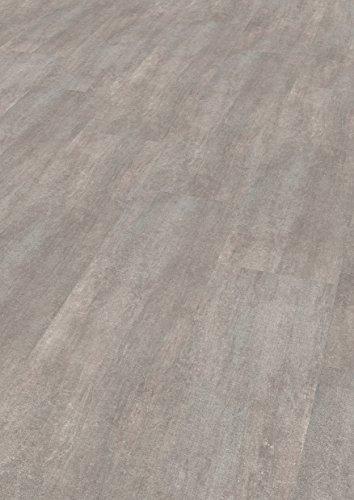 EGGER Home Laminat grau Betonoptik - Cefalu Beton hell in Steinoptik  EHL004 (8mm, 2,533 m²) Klick Laminatboden | Bodenbelag im Fliesenformat
