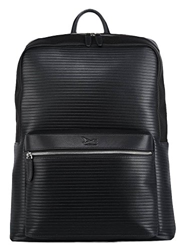 Doshi Lux Ribbed Backpack - Microfiber Vegan Leather