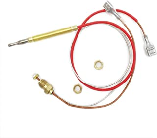 MeTer Star Outdoor Gas Patio Heater M6x0.75 Head Thread with M8x1 End Connection Nuts Thermocouple Length 0.41 Meters