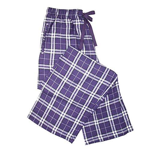 Boxercraft Flanellhose mit Seitentaschen Gr. S, violett