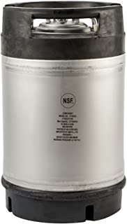 2.5 Gallon New Amcyl Ball Lock Keg with Dual Rubber Handle