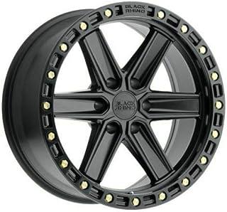 """4-Black Rhino Pinnacle 20x9 6x5.5/6x139.7-18 Black Wheels Rims 20"""" inch"""