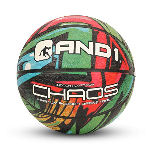 Fantastic Deal! AND1 Chaos Rubber Basketball: Game Ready, Official Regulation Size