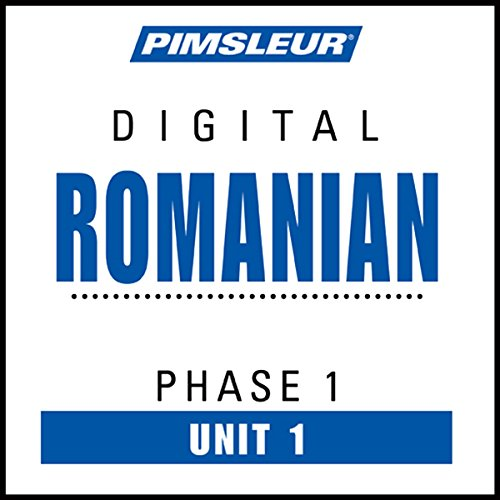 Romanian Phase 1, Unit 01 Titelbild