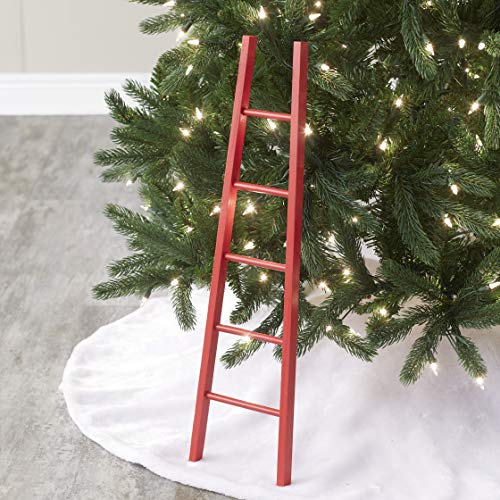 The Lakeside Collection Mini Ladder for Christmas Tree - Funny Christmas Tree Ornament 24'